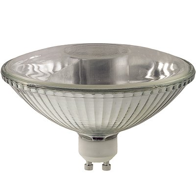 (75R111/GU10/FL - 75-Watt Halogen R111 Reflector - GU10 Base (Twist & Lock) - 75W Flood Light Bulb)