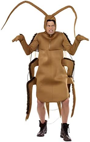 Smiffys 36571 - Costume de cucaracha, color marrón: Amazon.es ...