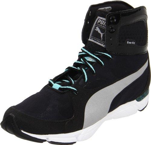 Puma Donna Formlite Xt Mid Fashion Sneaker Nero / Ebano / Argento Metallizzato