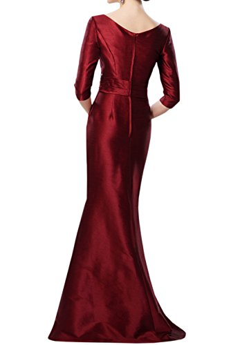 Vestido Estuche Borgoña Mujer Toskana Para Braut 5Hq87xnwzR