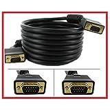 PTC 25 ft Premium GOLD Series VGA SVGA UXGA M/M Monitor Projector UL Listed, CL2 Rated
