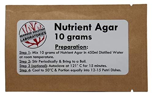 Nutrient Agar 10 Grams (Dehydrated)