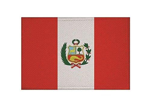 U24toppa Perù con stemma applicazione Patch 9x 6cm