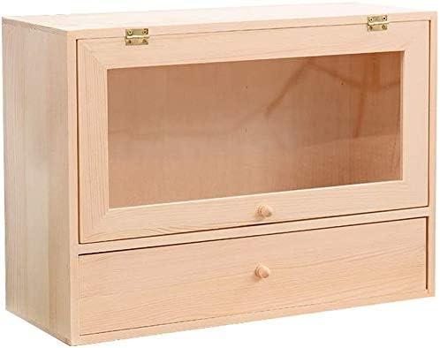 デスクトップストレージシェルフ本棚木製収納ボックスは、家庭やオフィスのためのスタンドアローンドレッサーとして使用することができます