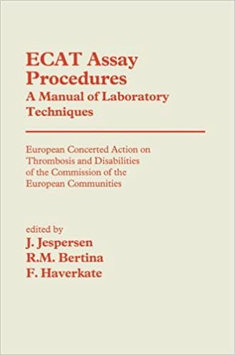 Ecat Assay Procedures A Manual of Laboratory Techniques