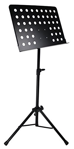 Gearlux MS100 Deluxe Collapsible Orchestra Music Stand - Black