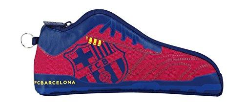 Safta 811572584 F.C Barcelona - Football Boot Pencil Case, Blue and Granite Colour by Barcelona F.C.