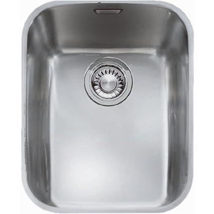 Franke ARX11033 1.0 Bowl Undermount Kitchen Sink in Stainless Steel ...