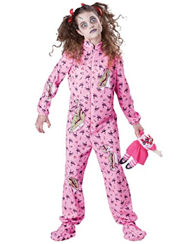 InCharacter Costumes Tween's Zombie Girl, Costume Purple, Medium