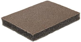 Norton Flexible Abrasive Sponge, Fabric Backing, Silicon Carbide