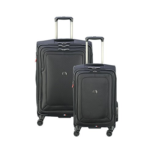 Trolley Suiter Luggage - Delsey Luggage Cruise Lite Softside Luggage Set (21