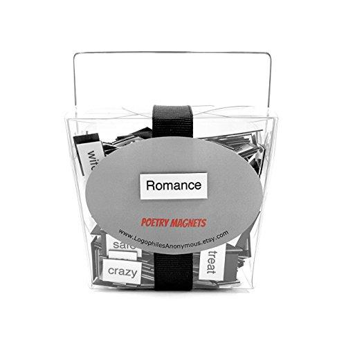 Romance Magnetic Poetry - Refrigerator Word Quote Magnets - Love, Romantic, Valentine, Couple, Wedding