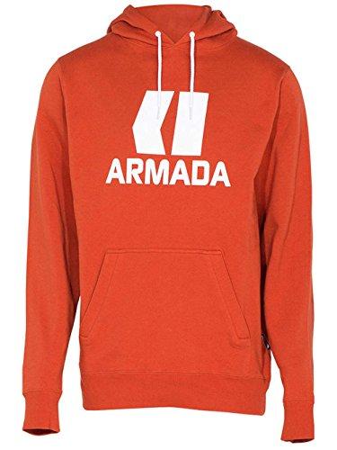 Armada Men's Classic Pullover Hoody (Burnt Sienna, Small) (Armada Hoodie)