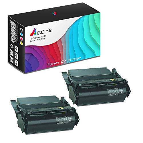 - ABCink Compatible Toner Cartridge Replacements for Lexmark 1382625,for use in Lexmark 4059,1200,1250,1650,2450,17600 Yields(2 Pack,Black)