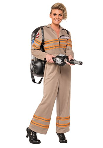 Rubie's Women's Ghostbusters Movie Deluxe Costume, Multi, Large - Ghostbuster Costume Adults