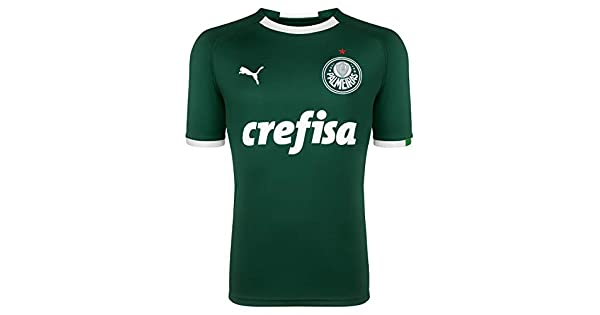 771430a31005e Camiseta Puma Palmeiras I Masculina 2019: Amazon.com.br: Amazon Moda