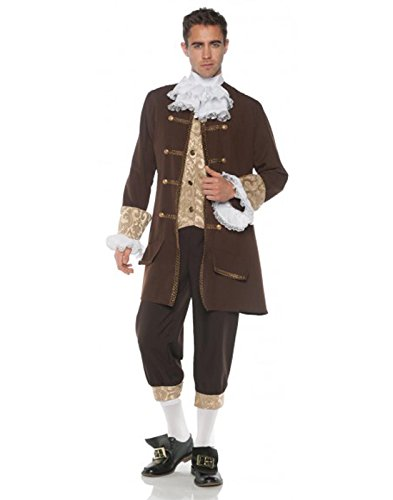 Men's Classic Colonial Costume, One Size ()