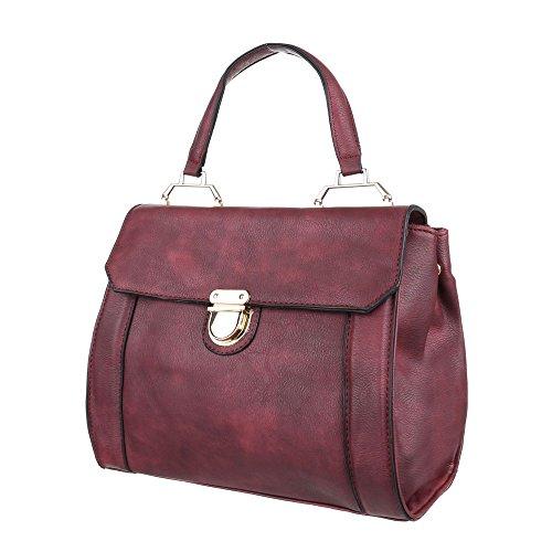 Ital-DesignSchultertasche Bei Ital-design - Bolso de hombro Mujer borgoña
