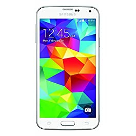 Samsung Galaxy S5 G900v 16GB Verizon Wireless CDMA Smartphone – Shimmery White (Renewed)