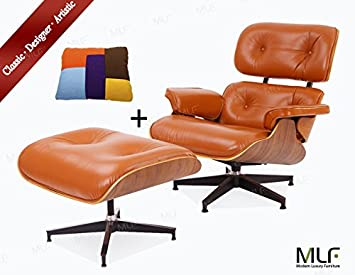 Lieblich MLF Reproduction Of Lounge Chair U0026 Ottoman (5 Colors). High Elastic  Polyurethane
