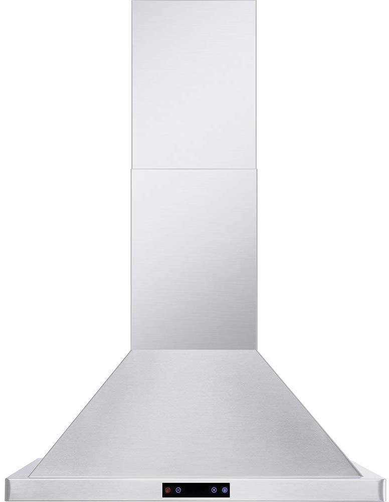 "Cavaliere CAV-B02-30 -Wall Mounted Stainless Steel 30"" Inch Range Hood"