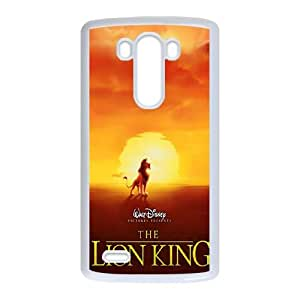 LG G3 Cell Phone Case White Lion King 1 12 N7P1JC