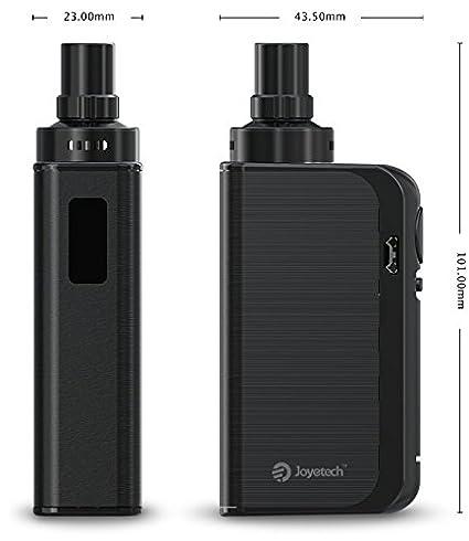 Original Joyetech eGo AIO ProBox Kit 2100mAh Batería todo en uno Estilo Vapeador electrónico, sin nicotina, sin líquido E (negro brillante): Amazon.es: ...