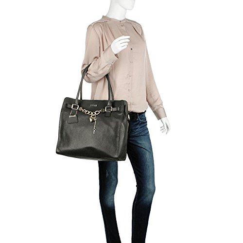 Negro Cartera Con Para 23 Mujer L Claudia Shopping Mano De Nero Liu Jo Asa x8XqwRv7