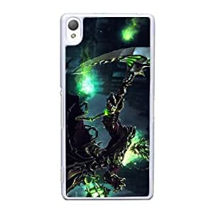 Sony Xperia Z3 Cell Phone Case White Thresh league of legends AS7YD3633103