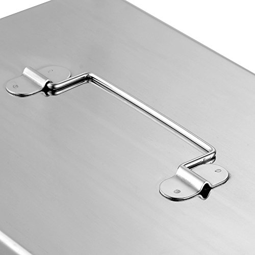 Yescom 8lbs 5GPM Gallon Per Minute Stainless Steel Grease Trap Interceptor by Yescom (Image #5)