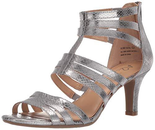 - Aerosoles A2 Women's Pastel Sandal, Silver Snake, 6 M US