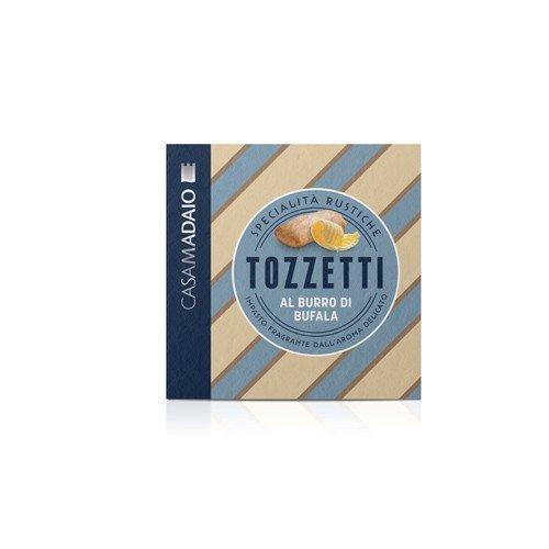 Wine Biscuits - CASA MADAIO Tozzetti Crackers, 10.58 OZ
