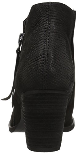 Boot Women's Leather Sam Macon Edelman Black Ankle wIxvTH
