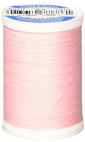 Coats Thread & Zippers Dual Duty XP General Purpose Thread, 250-Yard, Pink