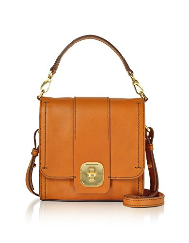 The Bridge Borsa Messenger Uomo 0432173Y15 Pelle Arancione
