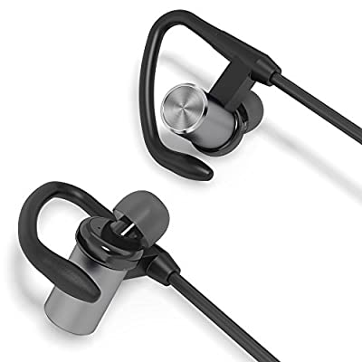 Symphonized GTS Bluetooth Wireless In-ear Noise-isolating Headphones   Earbuds   Earphones with Mic & Volume Control