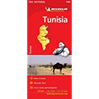 Tunisia - Michelin National Map 744