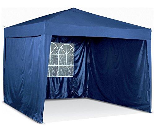 quality design d73ba acc4e Argos Blue Pop Up gazebo with side panels Waterproof: Amazon ...
