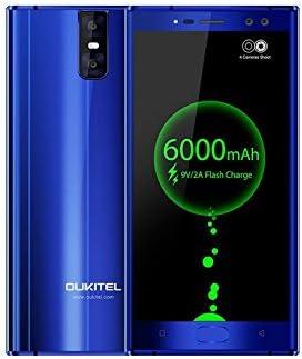 Oukitel K3 6000mAh batería teléfono inteligente Android 7.0 16MP + ...
