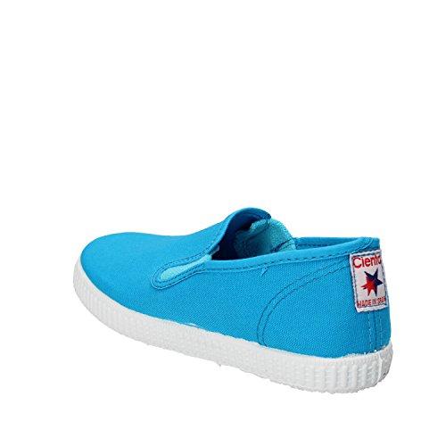 CIENTA Zapatillas de Tela Para Niño azul celeste
