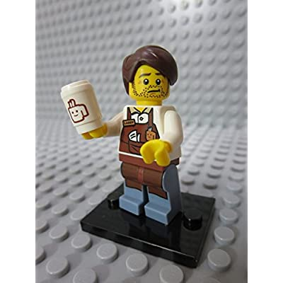 LEGO The Movie Larry The Barista Minifigure [Loose]: Toys & Games