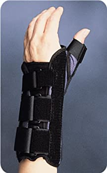 Premier Wrist Brace with Thumb Spica, Large Left