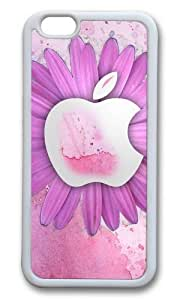 iPhone 6 Plus Case,VUTTOO iPhone 6 Plus Cover With Photo: Flowers Apple For Apple iPhone 6 Plus 5.5Inch - TPU White