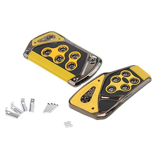 - Car Pedal Cover,POSSBAY Brake Accelerator Pedal Pads Automatic Transmission