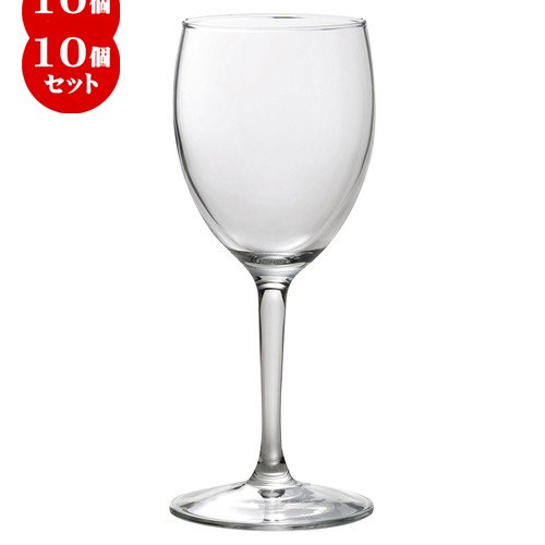 10個セット アルコロック プリンセサ ワイン 310cc [ D 7.2 x w 7.9 x H 19.7cm ] 【 ワイングラス 】 【 飲食店 レストラン ホテル カフェ バー 洋食器 業務用 】   B07BK31BNT