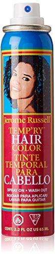 (Jerome Russell Temp'ry Hair Color Spray, Honey Blonde, 2.2 Fluid)