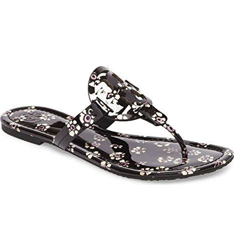 best place cheap price cheap price buy discount Tory Burch Women's Miller Black Floral cheap recommend bjzopln