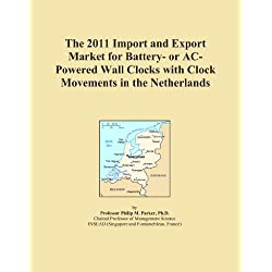 The 2011 Import and Export Market for Battery- or AC-Powered Wall Clocks with Clock Movements in the Netherlands