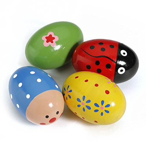 Toys & Gifts - Baby Kid Toy Egg Maracas Music Shaker Rattle Percussion - Baby Egg Rattle - 1PCs