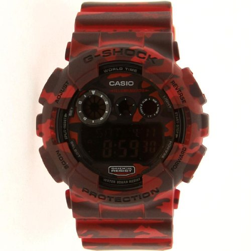Casio G Shock Woodland Camouflage GD120CM 4